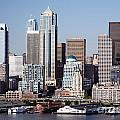 Seattle Skyline by Bill Cobb