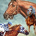 Secretariat - The Legend by Thomas Allen Pauly