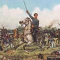 Seguin At San Jacinto by Henry Godines