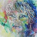 Self Portrait by Chrisann Ellis