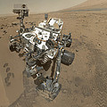 Self-portrait Of Curiosity Rover by Stocktrek Images
