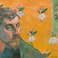 Self Portrait With Portrait Of Bernard by Mountain Dreams