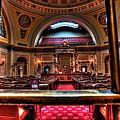 Senate Chamber by Amanda Stadther