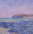 Shadows On The Sea by Claude Monet