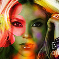 Shakira by Marvin Blaine