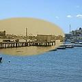 Shaw's Wharf At Sakonnet Point In Little Compton Rhode Island by Jeff Hayden