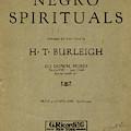 Sheet Music Spiritual by Granger