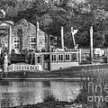 Shem Creek In Black And White by Dale Powell