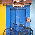 Shop On Street In Goa India by Jacek Malipan