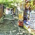 Shopping Street by Roy Pedersen