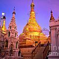 Shwedagon Paya - Yangoon by Luciano Mortula