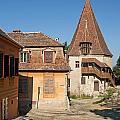 Sighisoara Transylvania Medieval Historic Town In Romania Europe by Jacek Malipan