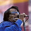 Singer James Brown by Concert Photos