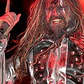 Singer Rob Zombie by Concert Photos