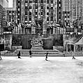 Skating At Rockefeller Plaza by Mountain Dreams