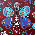 Skellyfly Day Of The Dead by Pristine Cartera Turkus