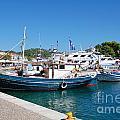 Skiathos Town Harbour by David Fowler