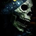Skull In Crown by Jill Battaglia
