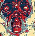 Skull In Hope by Rob Hans