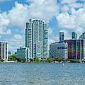 Skylines At The Waterfront, Miami by Panoramic Images