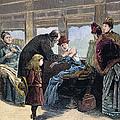 Smallpox Vaccination, 1885 by Granger