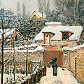 Snow At Louveciennes  by Mountain Dreams