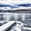 Snow Big Ditch Lake by Thomas R Fletcher