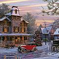 Snow Streets by Dominic Davison
