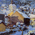Snow Village by James Swanson