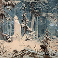 Snowy Forest by Mountain Dreams