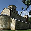 Sopocani Monastery by Zoran Berdjan