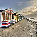 Southwold Beach Huts  by Rob Hawkins