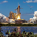Space Shuttle Atlantis Launch by Chad Rowe