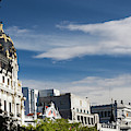 Spain, Madrid, Centro Area by Walter Bibikow