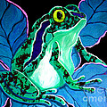 Speckled Frog by Nick Gustafson