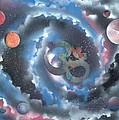 Spiral Galaxy Om by Thomas Roteman