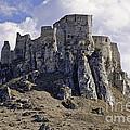 Spissky Hrad Castle by Les Palenik