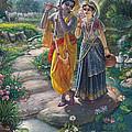 Sri Radha Krishna by Satchitananda das Saccidananda das