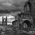 St Andrews Cathedral And Gravestones by RicardMN Photography