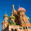St. Basil's Cathedral - Square by Alexander Senin