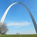 St. Louis Arch by Sandras