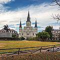 St. Louis Cathedral IIi by Chris Moore