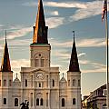 St. Louis Cathedral Va by Chris Moore