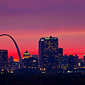 St Louis Sunset by Garry McMichael