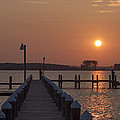 St Marys County Maryland Sunrise by Bill Cannon
