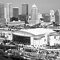 St. Pete Times Forum And Tampa Skyline by Bill Cobb