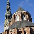 St. Peter's Church Riga by Jason O Watson