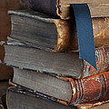 Stack Of Vintage Books by Jill Battaglia