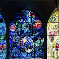 Stained Glass Chagall Windows by Panoramic Images