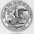 State Seal Illinois by Granger